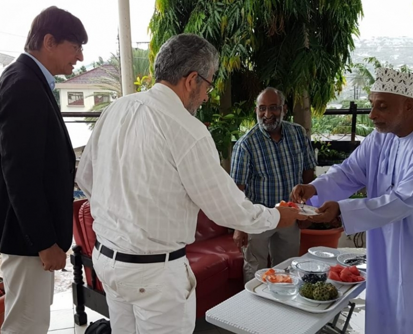 Omanische Gastfreundschaft