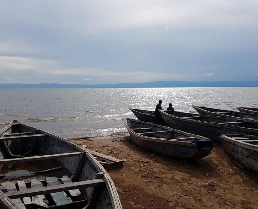 Strand in Tansania