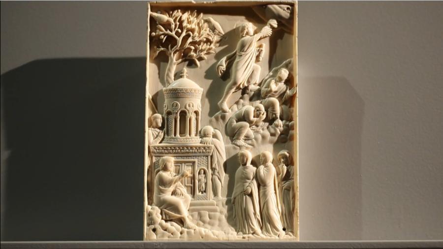 Kunst aus Elfenbein - Reidersche Tafel