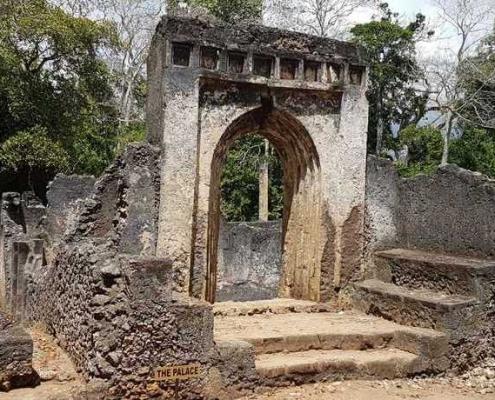 Omani Palast Ruine