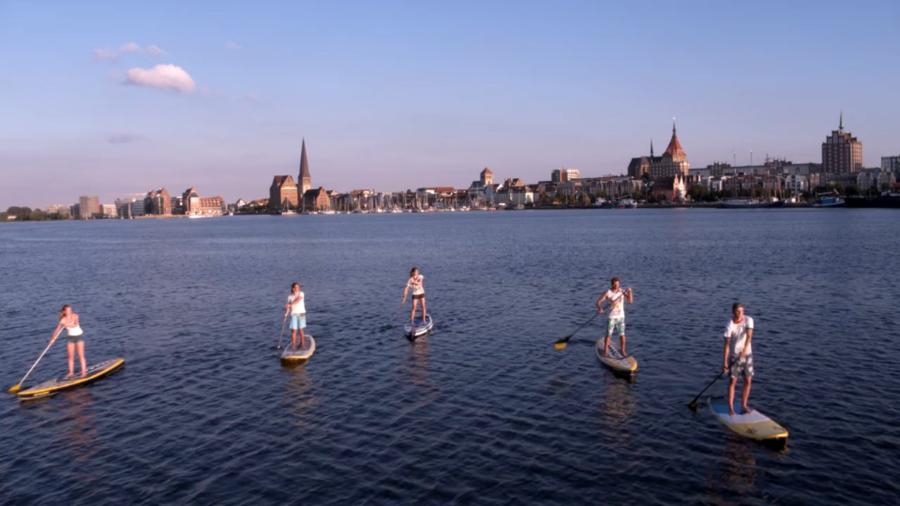 Uni Rostock 600 - Stadtaussicht